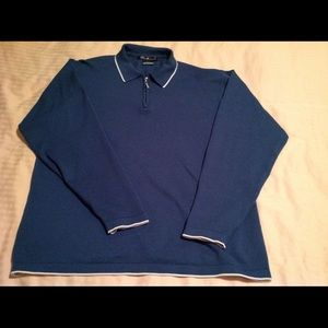 Tiger Woods long sleeve quarter zip size large